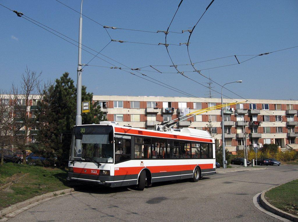 Fotogalerie » Škoda 21Tr 3022 | Brno | Bystrc | Černého | Černého