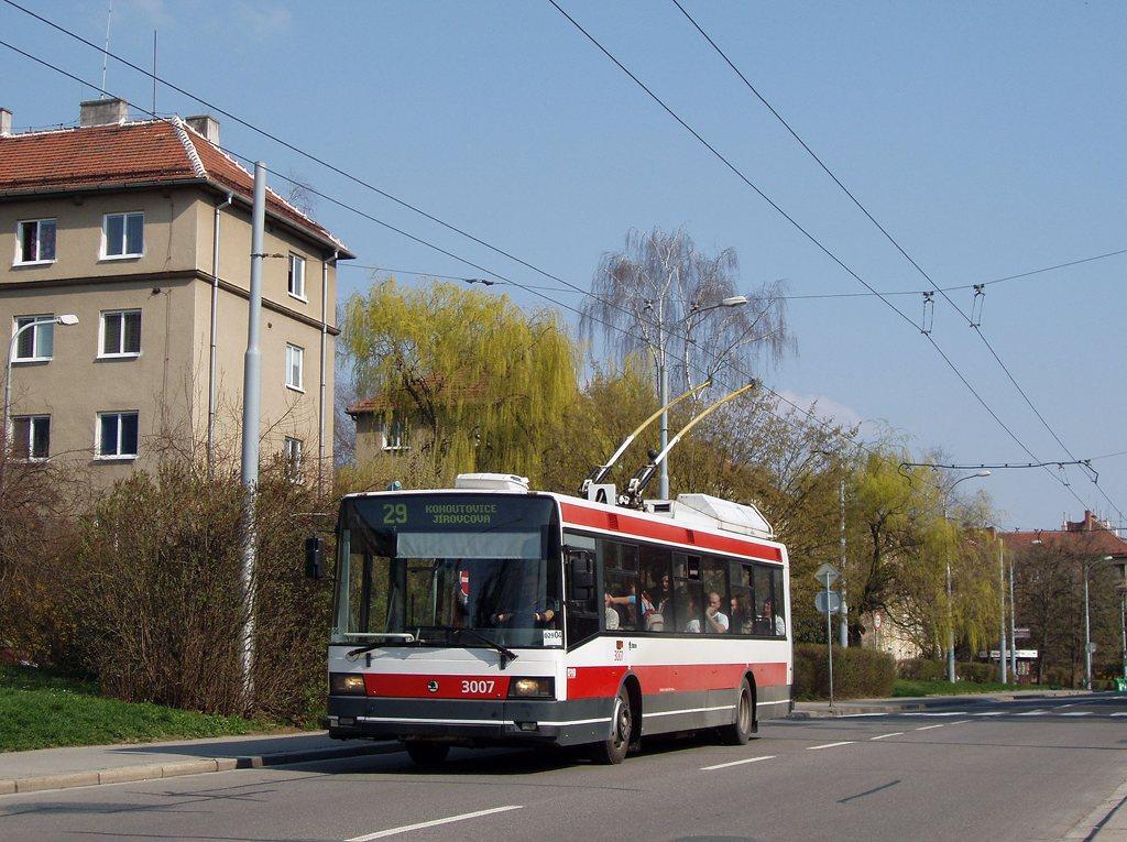 Fotogalerie » Škoda 21Tr 3007   Brno   Žabovřesky   Zborovská