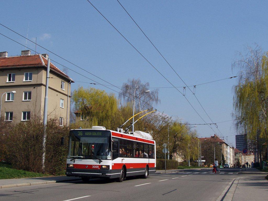 Fotogalerie » Škoda 21Tr 3009 | Brno | Žabovřesky | Zborovská