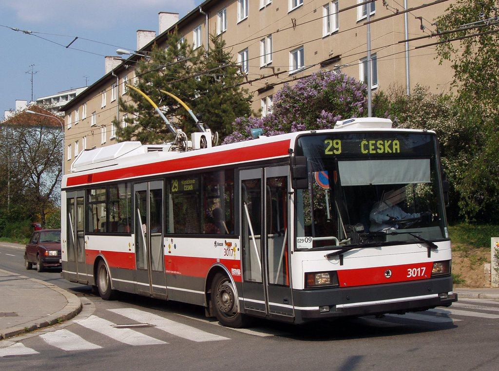 Fotogalerie » Škoda 21Tr 3017 | Brno | Žabovřesky | Jindřichova