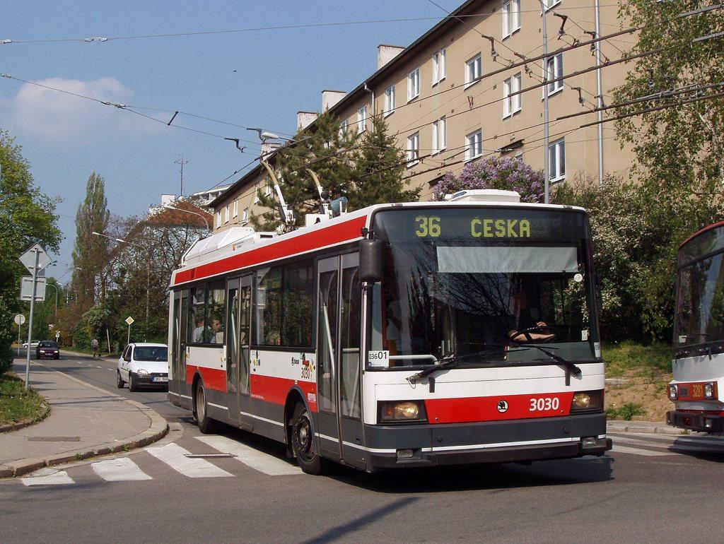 Fotogalerie » Škoda 21Tr 3030   Brno   Žabovřesky   Zborovská