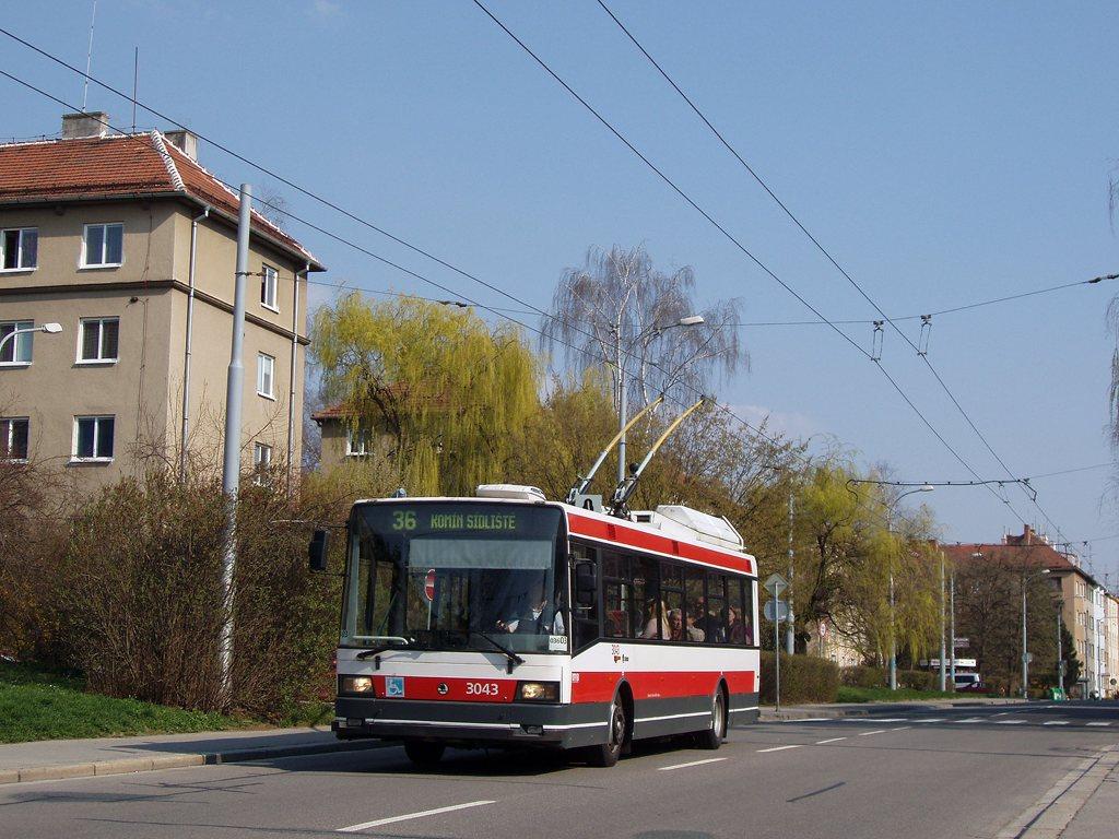 Fotogalerie » Škoda 21TrIGCT 3043 | Brno | Žabovřesky | Zborovská