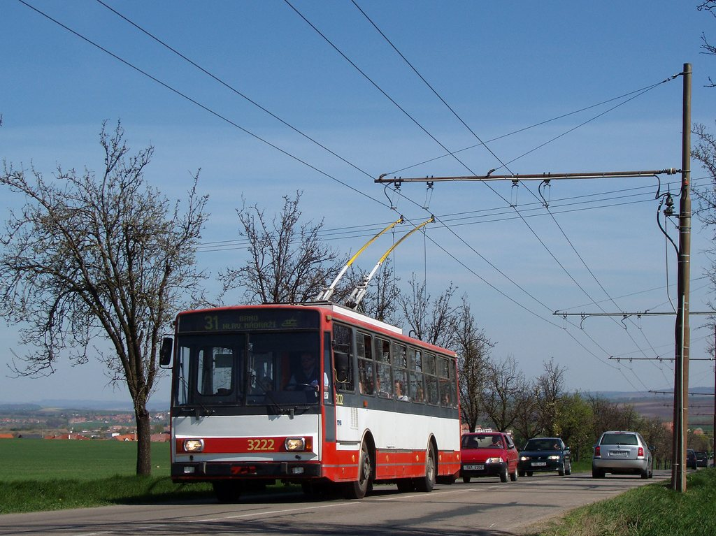 Fotogalerie » Škoda 14TrR 3222 | Šlapanice | Šlapanická | Hraničky