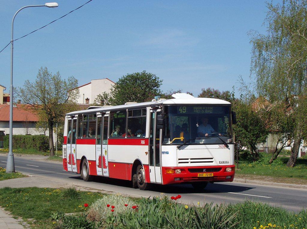 Fotogalerie » Karosa B931.1675 7436 | Brno | Černovice | Charbulova