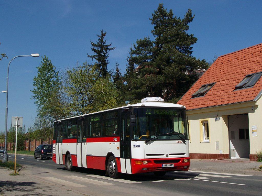 Fotogalerie » Karosa B951E.1713 7486 | Brno | Černovice | Charbulova