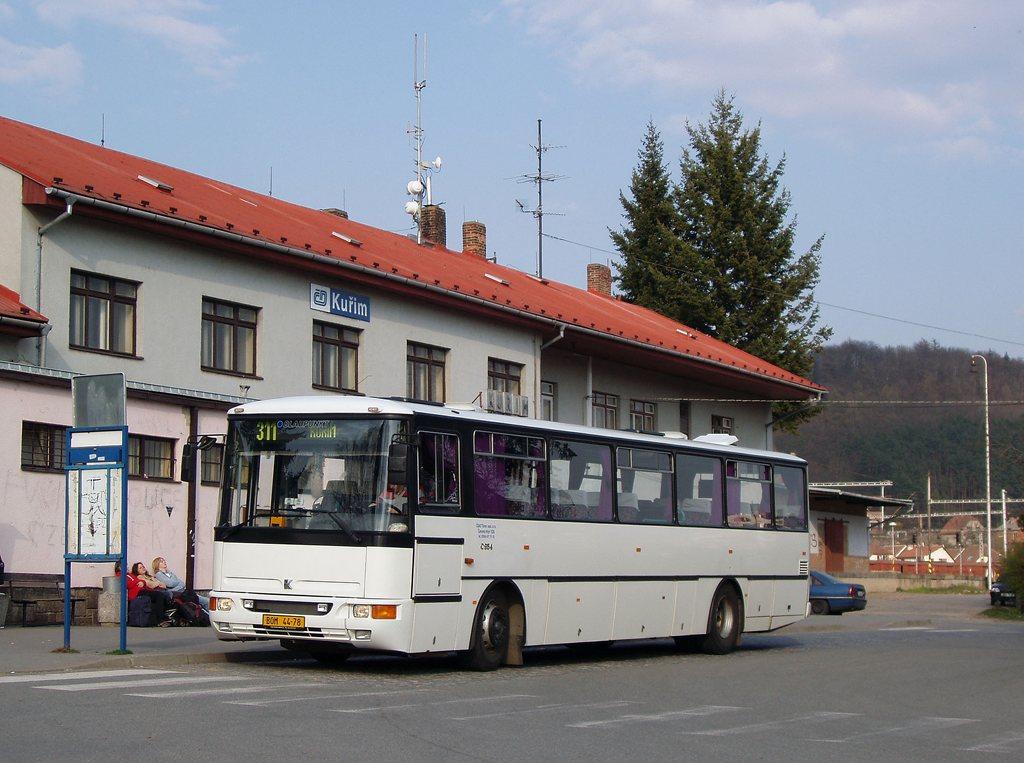 Fotogalerie » Karosa C954.1360 BOM 44-78 | Kuřim | Nádražní | Kuřim, železniční stanice