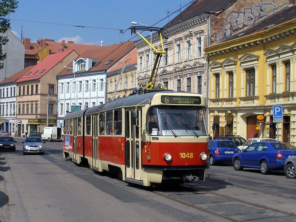 Fotogalerie » ČKD Tatra K2P 1048   Brno   Staré Brno   Pekařská