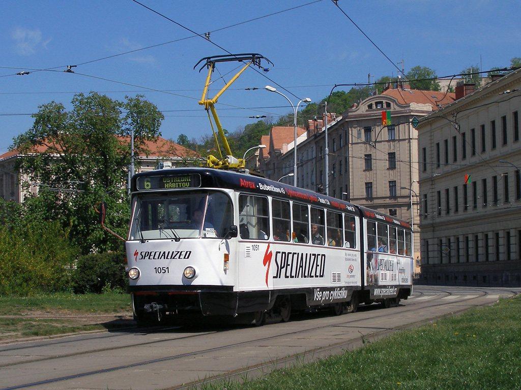 Fotogalerie » ČKD Tatra K2P 1051 | Brno | Staré Brno | Mendlovo náměstí
