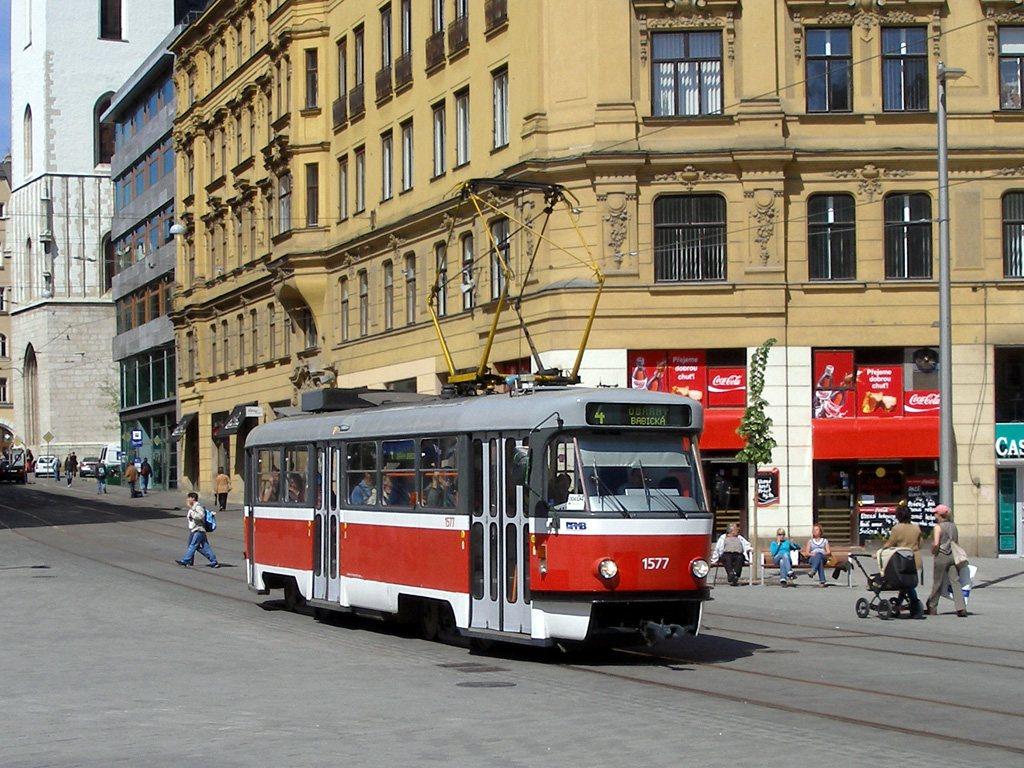 Fotogalerie » ČKD Tatra T3 1577 | Brno | střed | náměstí Svobody