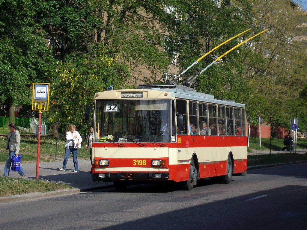 Fotogalerie » Škoda 14Tr07 3198 | Brno | Královo Pole | Chodská | Šelepova