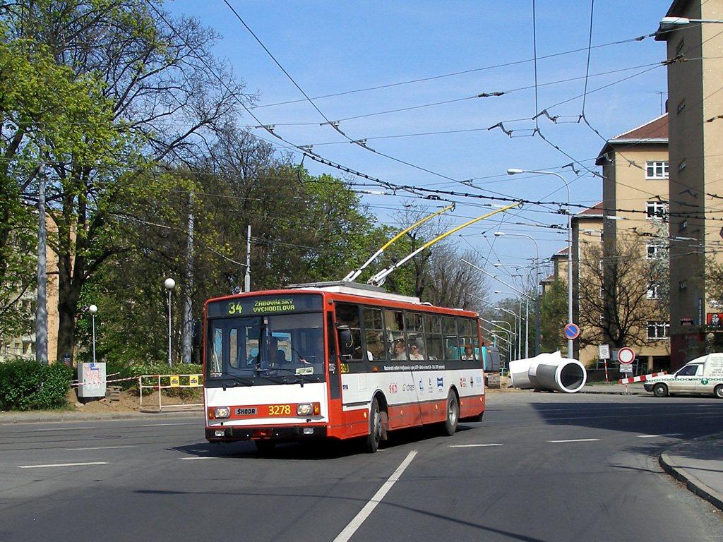 Fotogalerie » Škoda 14Tr17/6M 3278   Brno   Žabovřesky   Tábor
