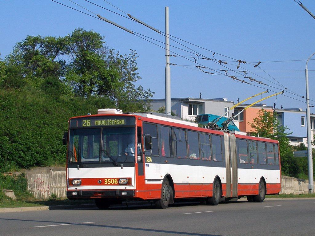 Fotogalerie » Škoda 15TrM 3506   Brno   Vinohrady   Věstonická