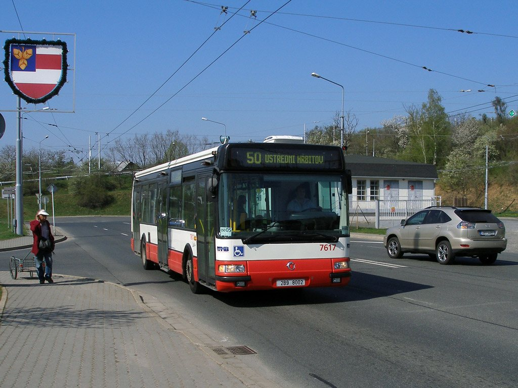 Fotogalerie » Irisbus Citybus 12M 2071.40 7617 | Brno | Kamenný Vrch | Petra Křivky