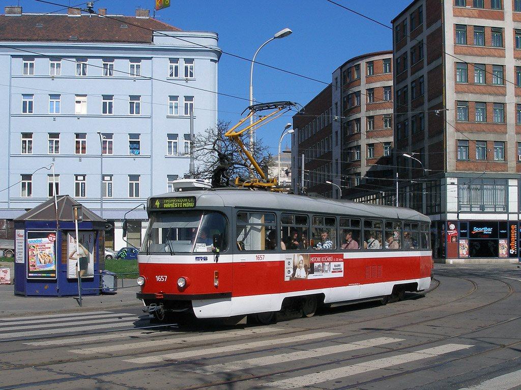 Fotogalerie » Pragoimex T3R.PV 1657 | Brno | střed | Benešova