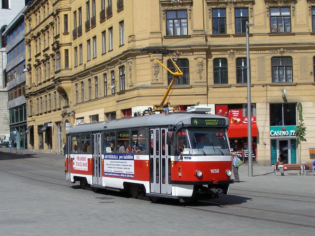 Fotogalerie » Pragoimex T3R.PV 1658 | Brno | střed | náměstí Svobody