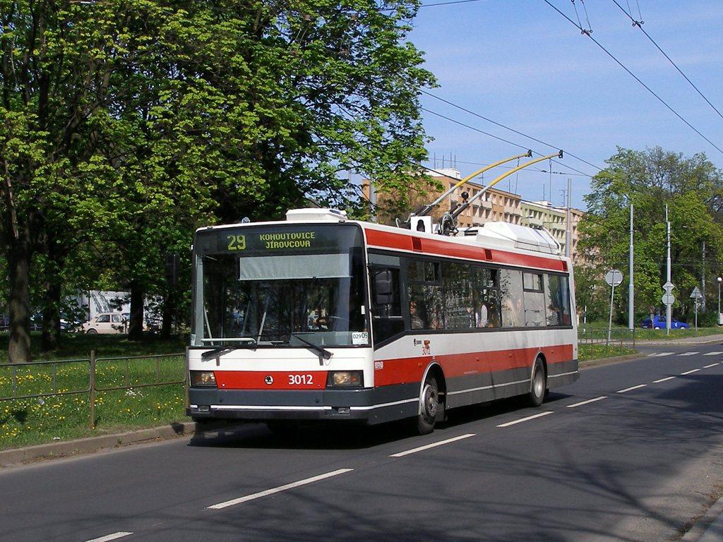 Fotogalerie » Škoda 21Tr 3012   Brno   Žabovřesky   Tábor
