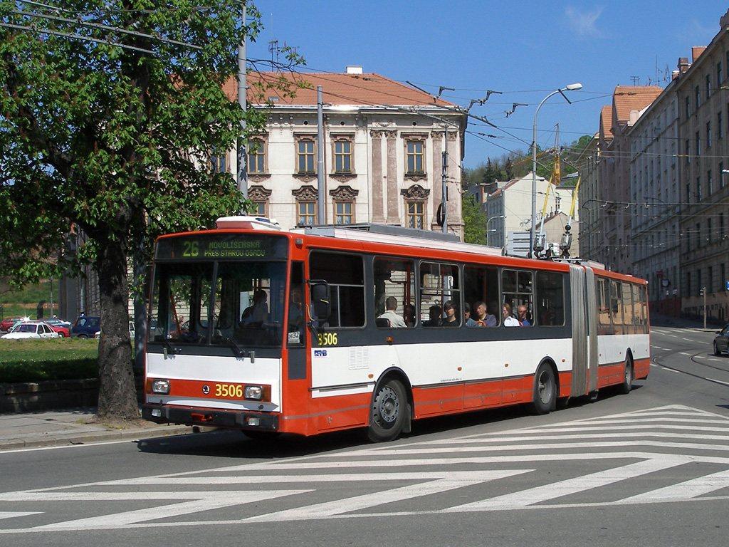 Fotogalerie » Škoda 15TrM 3506   Brno   Staré Brno   Mendlovo náměstí