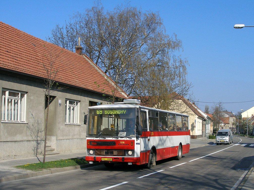 Fotogalerie » Karosa B732.1654.3 7378 | Brno | Starý Lískovec | Klobásova