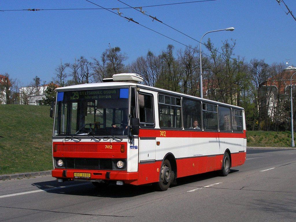 Fotogalerie » Karosa B731.1669 7412 | Brno | Kohoutovice | Libušina třída