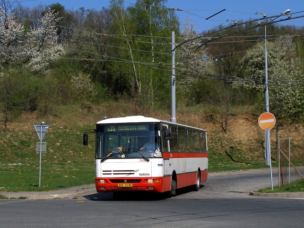 Fotogalerie » Karosa B931.1675 7436 | Brno | Kamenný Vrch | Petra Křivky