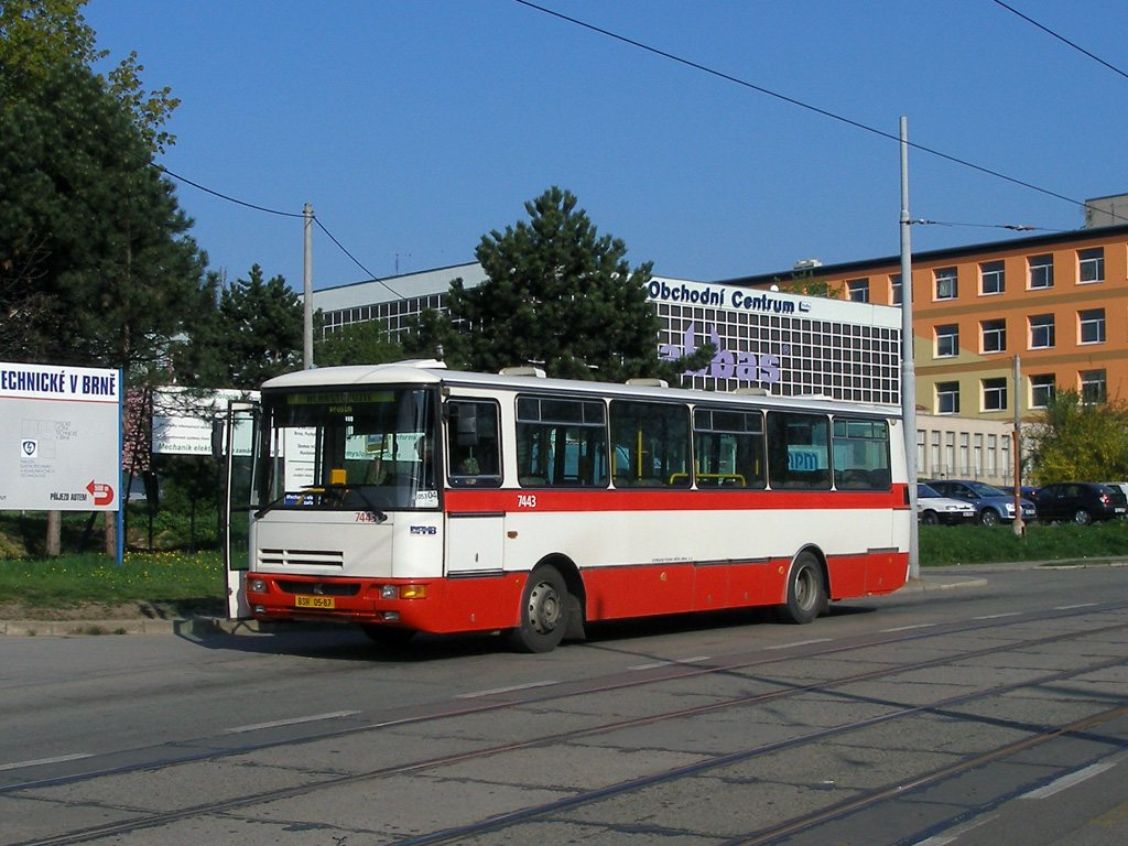 Fotogalerie » Karosa B931.1675 7443 | Brno | Královo Pole | Purkyňova