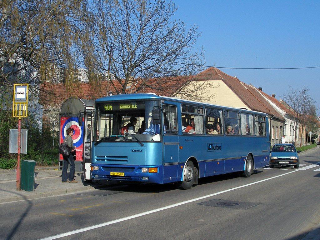Fotogalerie » Karosa C934 BSC 55-89 | Brno | Starý Lískovec | Klobásova | Točná