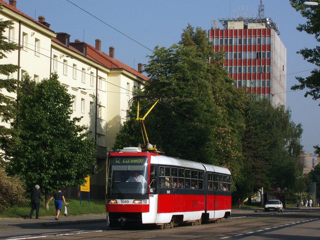 Fotogalerie » ČKD Tatra K2R03-P 1049 | Brno | Žabovřesky | Jana Babáka