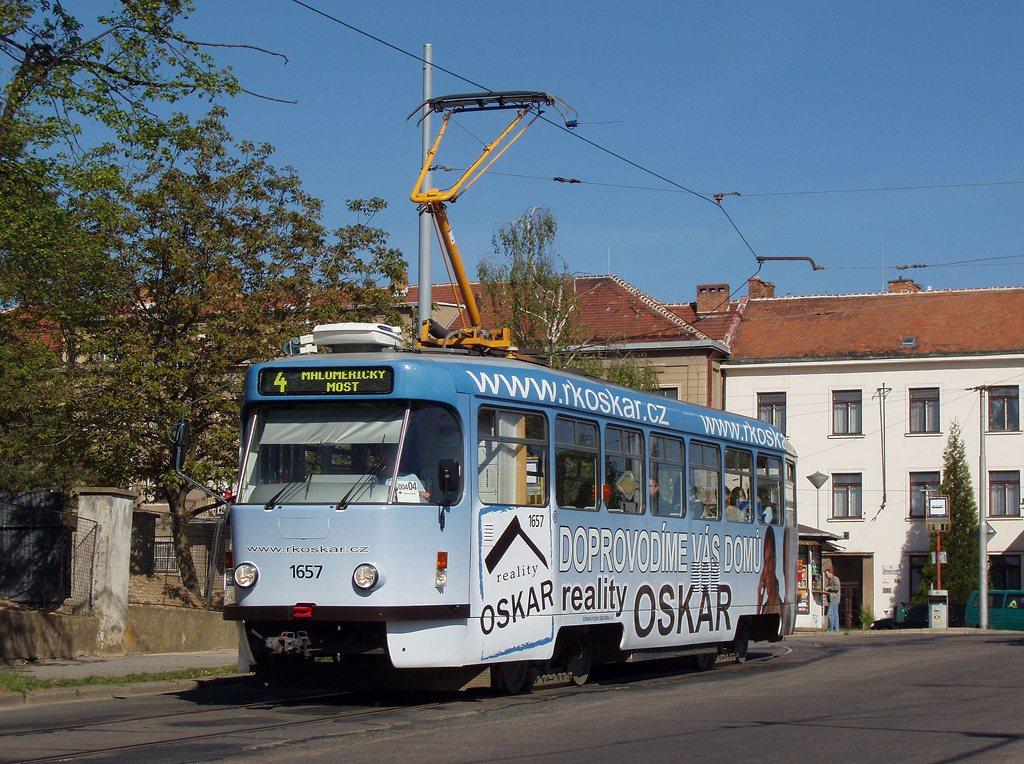 Fotogalerie » Pragoimex T3R.PV 1657 | Brno | Masarykova Čtvrť | náměstí Míru