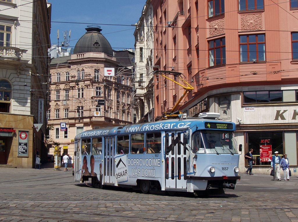 Fotogalerie » Pragoimex T3R.PV 1657 | Brno | střed | Masarykova