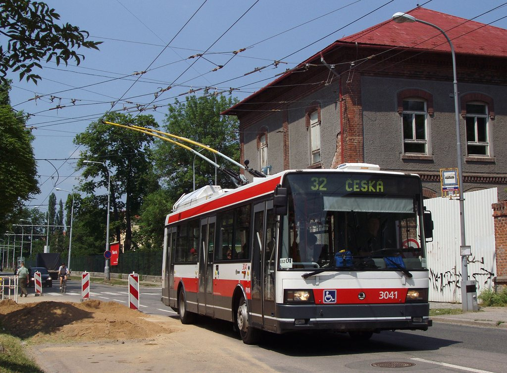 Fotogalerie » Škoda 21TrIGCT 3041 | Brno | Královo Pole | Chodská