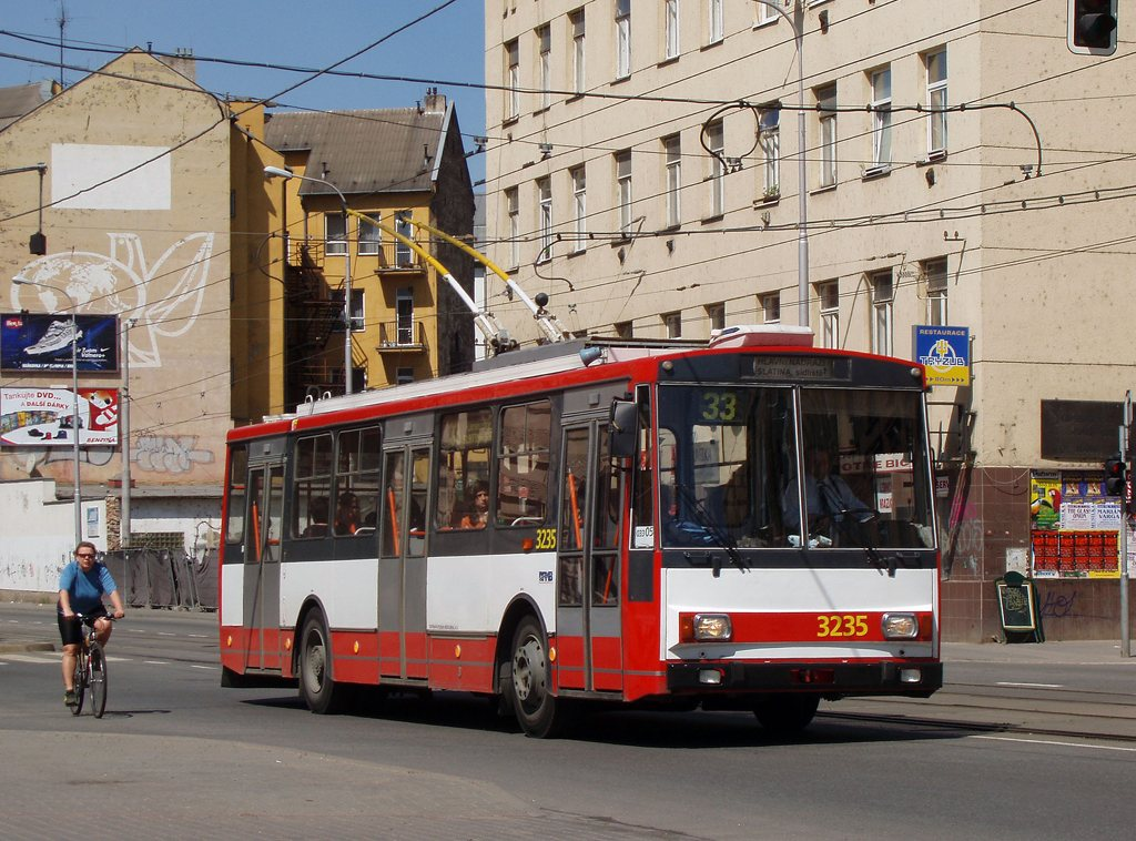 Fotogalerie » Škoda 14Tr10/6 3235 | Brno | Trnitá | Křenová