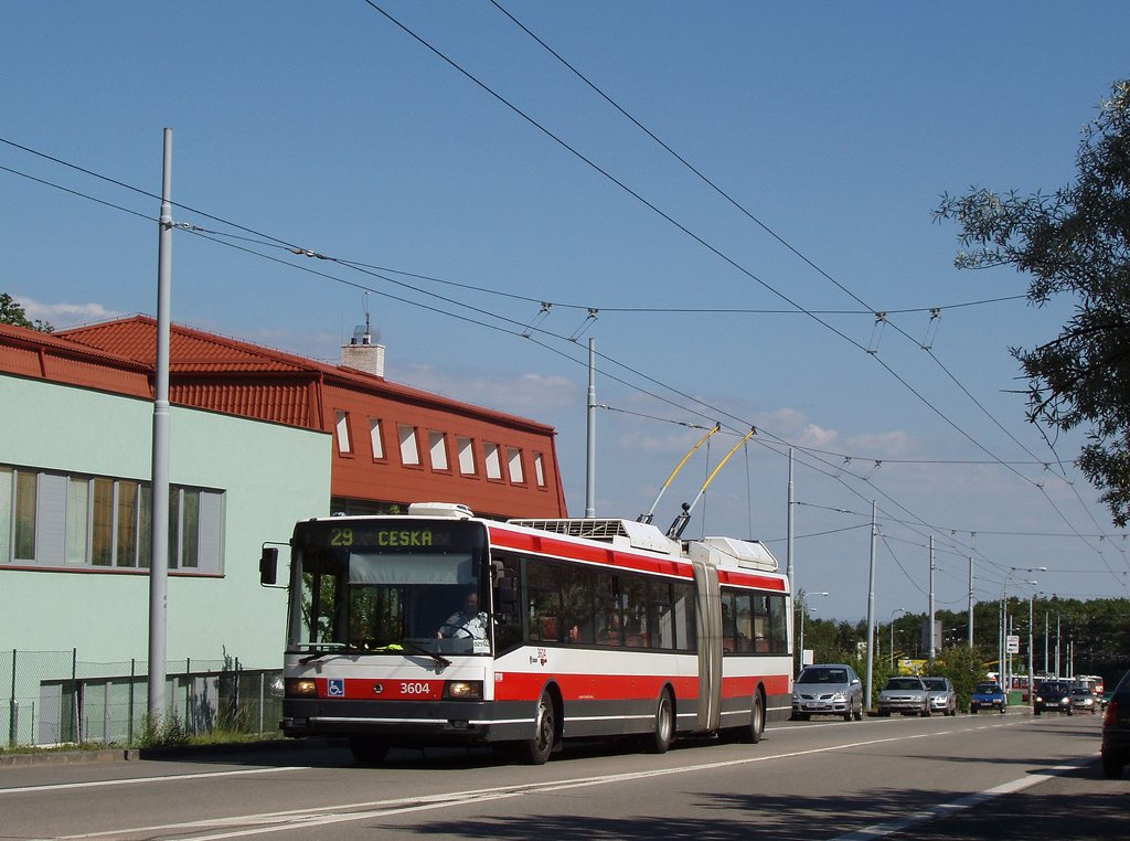 Fotogalerie » Škoda 22Tr 3604 | Brno | Kohoutovice | Libušina třída