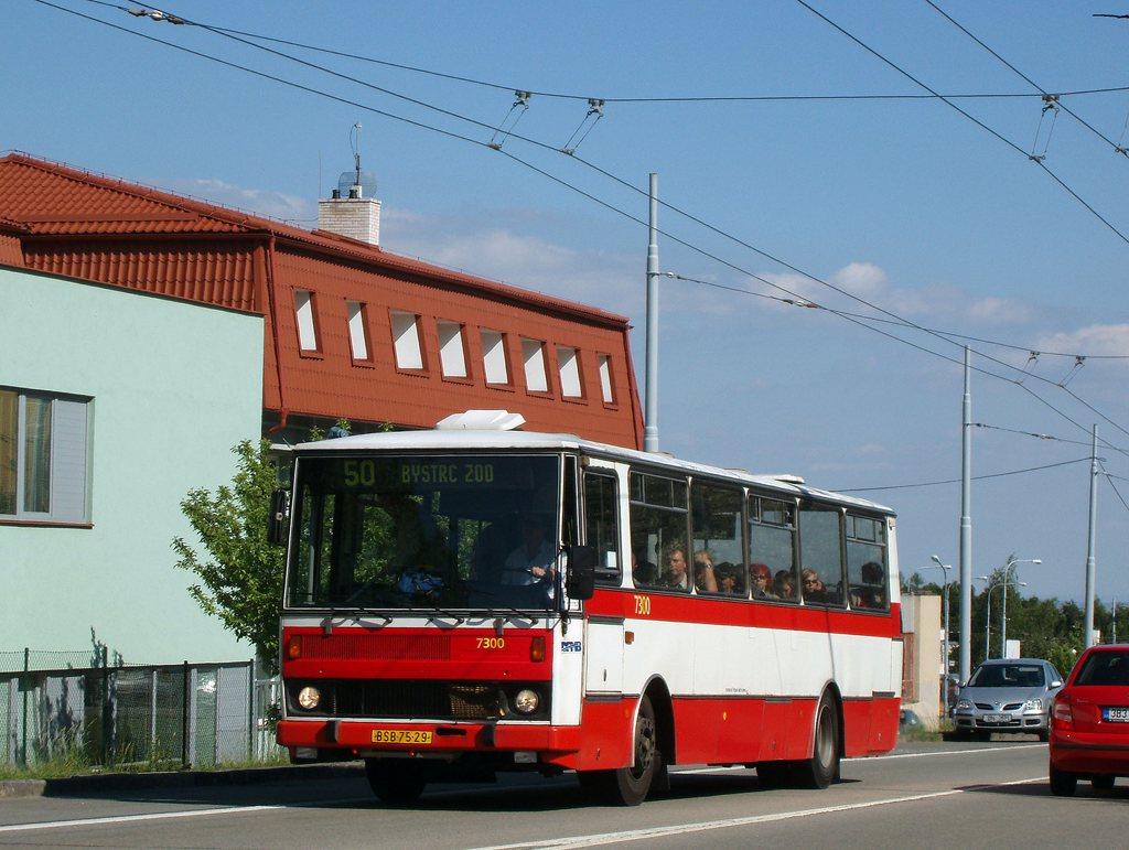 Fotogalerie » Karosa B732.1652 7300 | Brno | Kohoutovice | Libušina třída