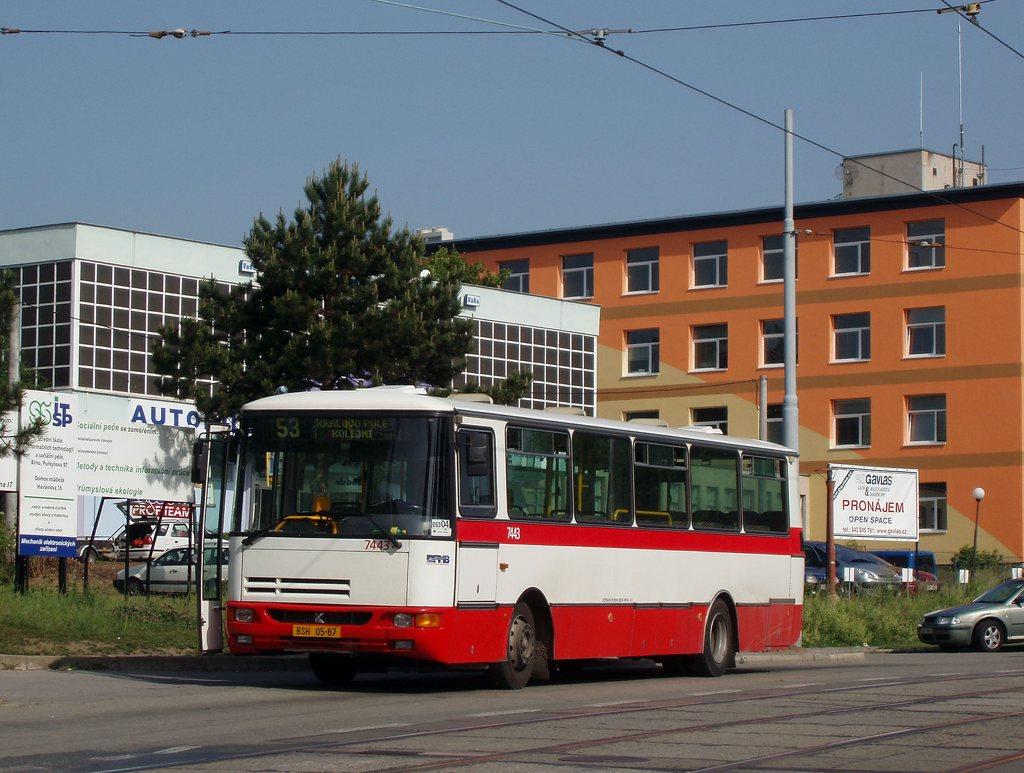 Fotogalerie » Karosa B931.1675 7443 | Brno | Královo Pole | Purkyňova | Červinkova