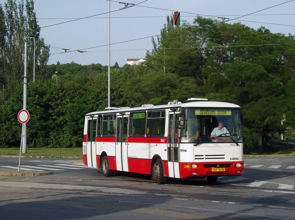 Fotogalerie » Karosa B931E.1707 7462 | Brno | Královo Pole | Kosmova