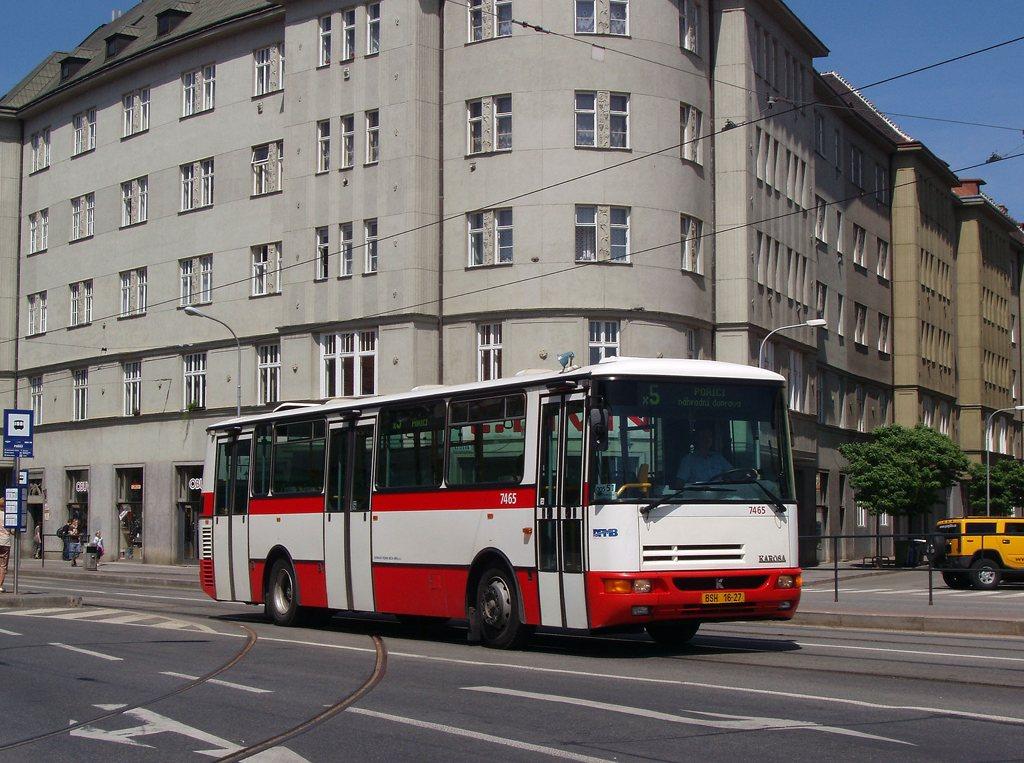 Fotogalerie » Karosa B931E.1707 7465 | Brno | Staré Brno | Křížová | Poříčí