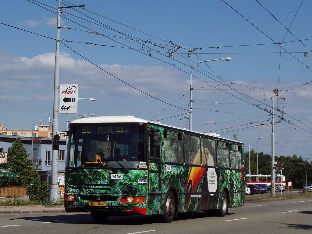 Fotogalerie » Karosa B931E.1707 7466 | Brno | Kohoutovice | Libušina třída
