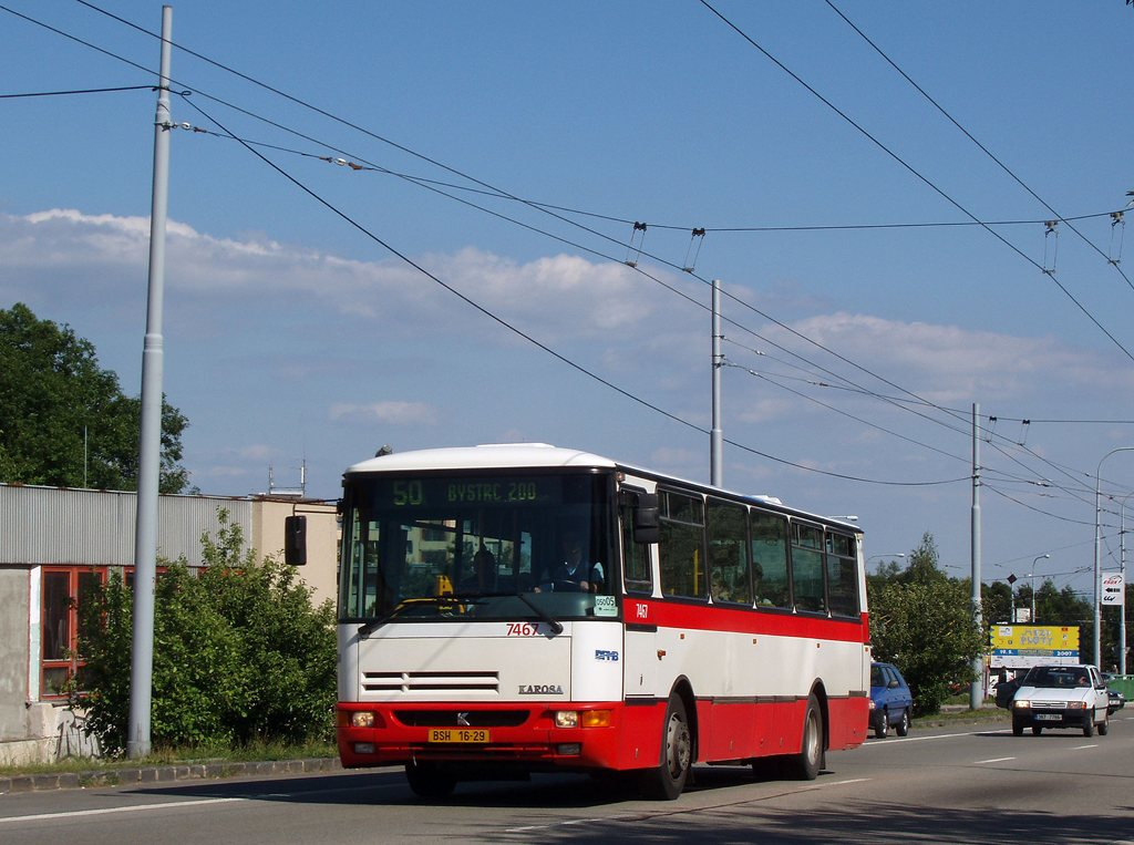 Fotogalerie » Karosa B931E.1707 7467 | Brno | Kohoutovice | Libušina třída