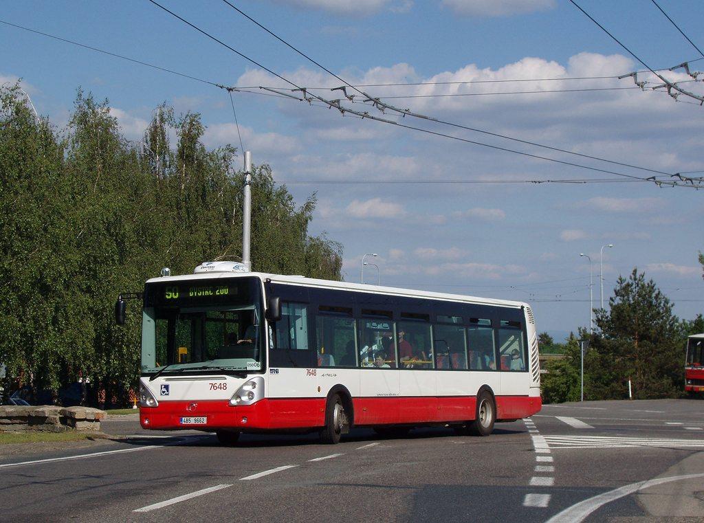 Fotogalerie » Irisbus Citelis 12M 7648 | Brno | Kohoutovice | Žebětínská