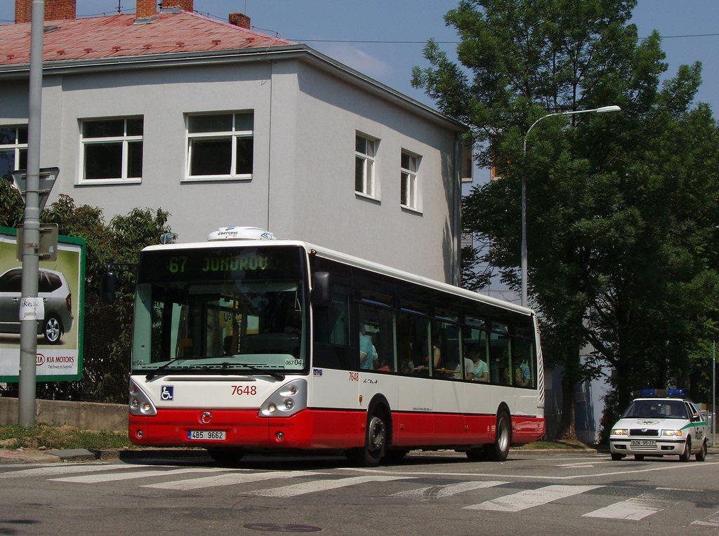 Fotogalerie » Irisbus Citelis 12M 7648 | Brno | Královo Pole | Domažlická