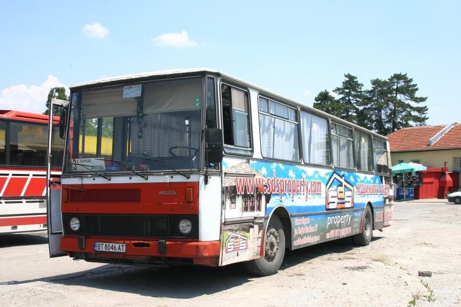 Fotogalerie » Karosa B732.00 7167 | Veliko Tarnovo (Bulharsko)