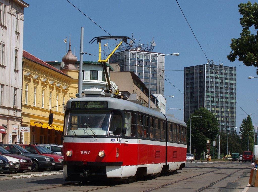 Fotogalerie » ČKD Tatra K2P 1097 | Brno | Žabovřesky | Minská