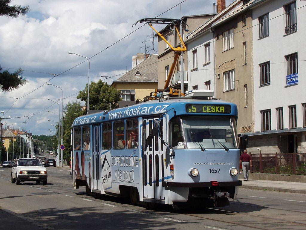 Fotogalerie » Pragoimex T3R.PV 1657 | Brno | Černá Pole | Merhautova