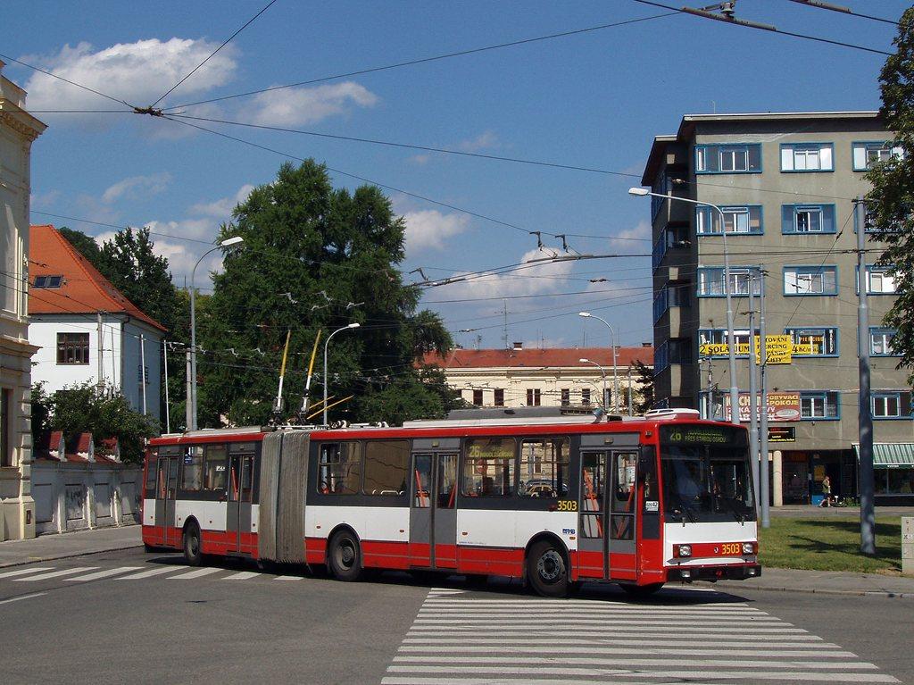 Fotogalerie » Škoda 15TrM 3503 | Brno | Staré Brno | Mendlovo náměstí | Mendlovo náměstí