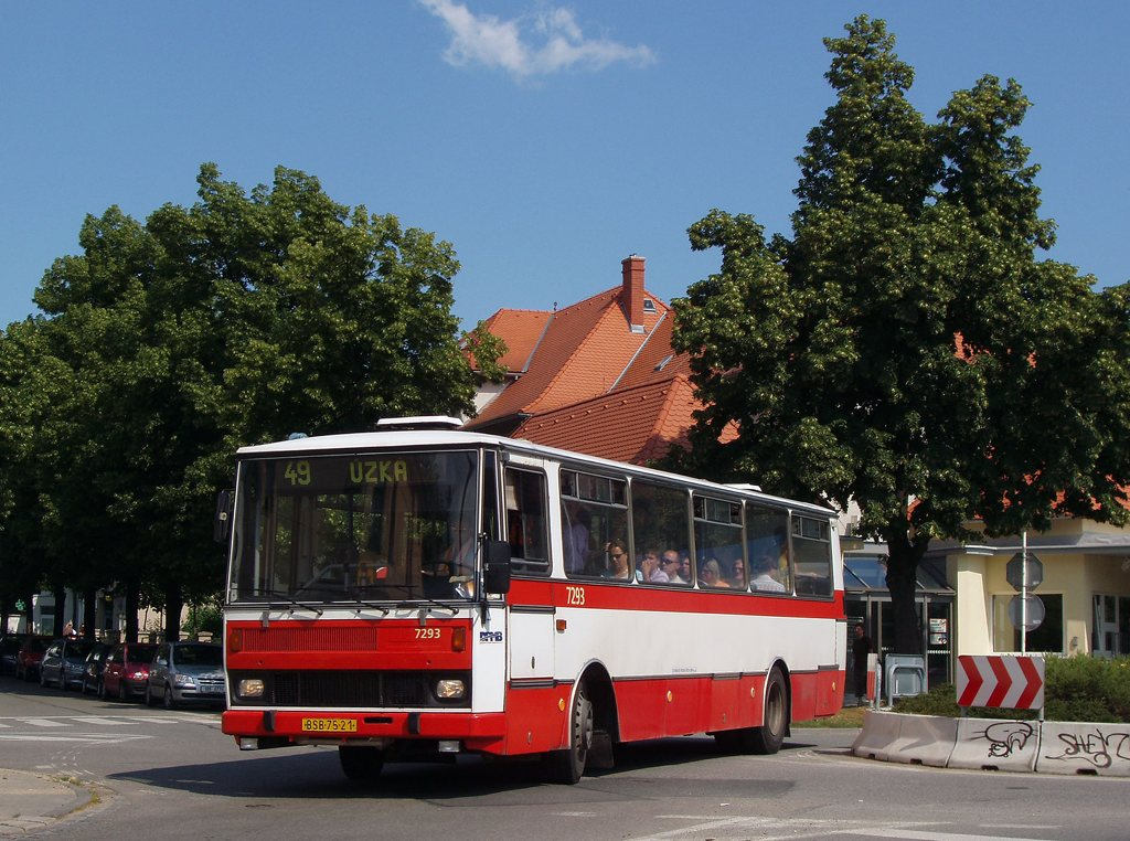 Fotogalerie » Karosa B732.1652 7293 | Brno | Černovice | Charbulova