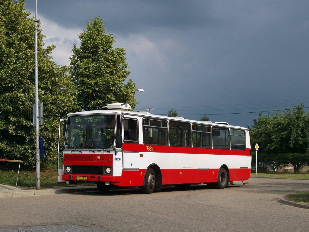 Fotogalerie » Karosa B732.1654.3 7381 | Brno | Maloměřice | Podzimní