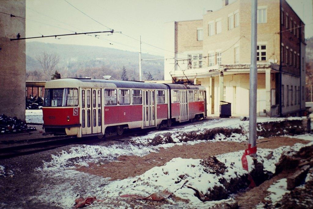 Fotogalerie » ČKD Tatra K2 1035 | Brno | Pisárky | Hlinky