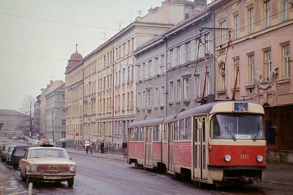 Fotogalerie » ČKD Tatra K2 1111 | Brno | Žabovřesky | Tábor | Tábor
