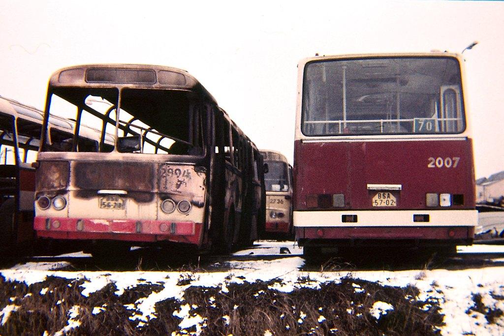 Fotogalerie » Karosa ŠM11.1630 2894 | Ikarus 280.08 2007 | Brno | vozovna Medlánky