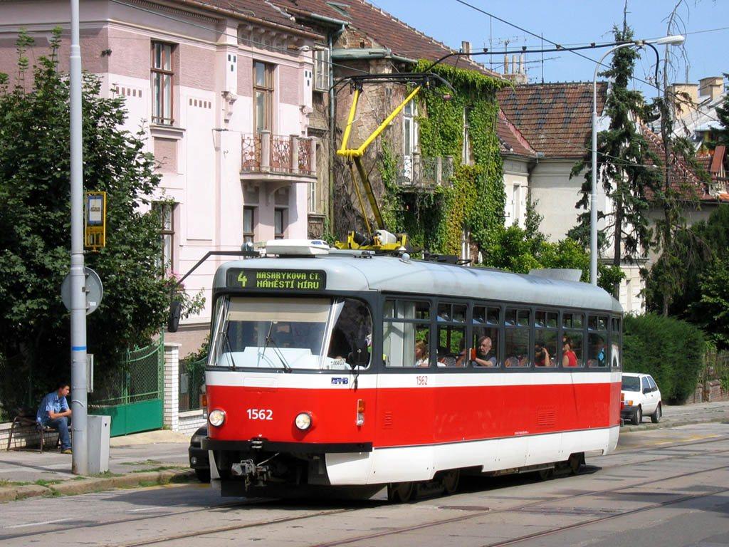 Fotogalerie » Pragoimex T3R.EV 1562 | Brno | Veveří | Údolní | Všetičkova